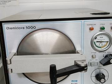 Gebruikte apparatuur: mdt harvey chemiclaaf 5000