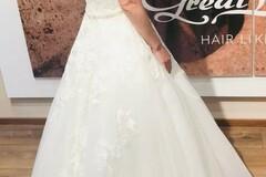 Ilmoitus: Kaunis A-linjainen Beautiful Bridal -häämekko (36/38)