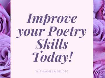 Offering with online payment: Poetry (Creative Writing) Tutor - Zoom Lessons