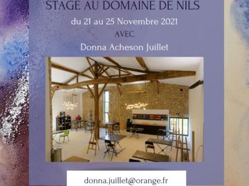 Offre: Stage Aquarelle Créative - Creative Watercolour Workshop