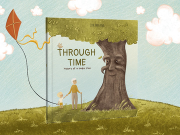 Illustration work : 32 page picture book package