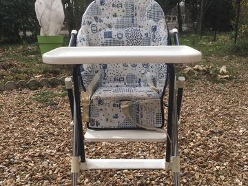 Vente: Chaise haute bébé