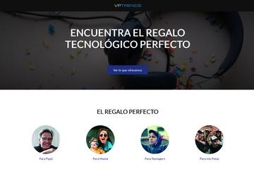 Servicio freelance: Desarrollo de Landing Page