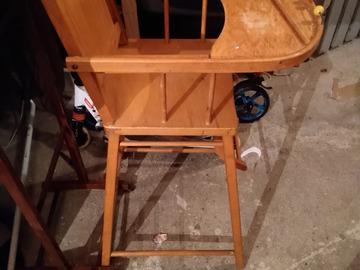 Vente: chaise enfant en bois