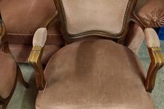 Vente: 2 fauteuils style Louis XVI