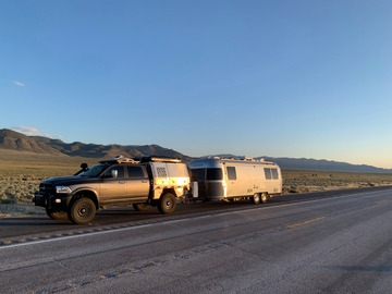 For Sale: Off-grid Airstream and Overlanding Truck
