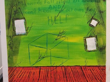 Sell Artworks: Glass box