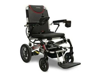 SALE: Pride Jazzy Passport Foldable and Lightweight Power Wheelchair