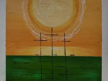 Sell Artworks: Empty cross