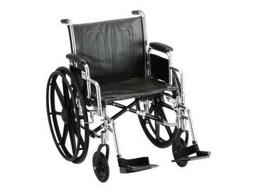 SALE: Nova Heavy Duty Steel Wheelchair