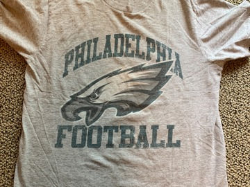 Selling A Singular Item: Adult Small Philadelphia Eagles T-Shirt