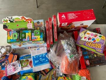 Liquidation/Wholesale Lot: 50 PCS Toys Puzzles Games Crafts Lot 6044