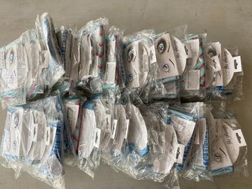 Liquidation/Wholesale Lot: 38 - 3 Packs Reusable Makeup Cloths Lot 6047