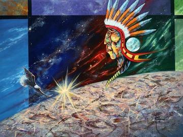 Sell Artworks: Mystic Warrior