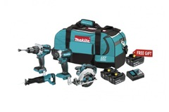 For Sale: MAKITA M18 4-TOOL COMBO KITS WITH FREE 3.0AH BATTERY XTL204