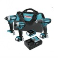 For Sale: THE MAKITA 12V MAX LITHIUM-ION CORDLESS 4-PC. COMBO KIT (CT410)