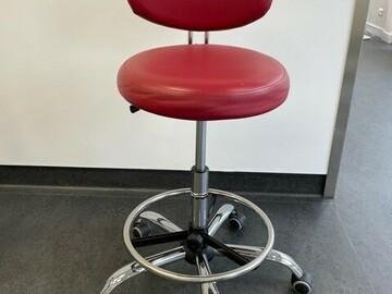 Gebruikte apparatuur: Werkstoel