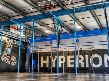 Hourly Rental: Open and spacious industrial fitness space