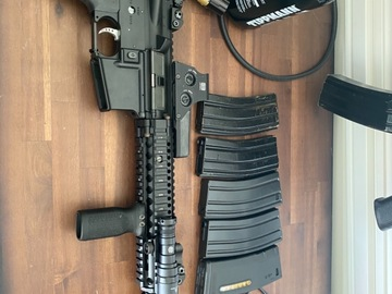 Selling: Mk18 custom suppressed with goodies
