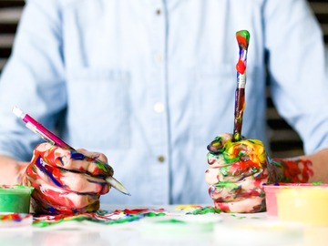 Workshops & Events (Per event pricing): Creative Painting Class