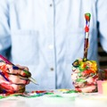 Events priced per-person: Art supply kits for Creative Painting Class