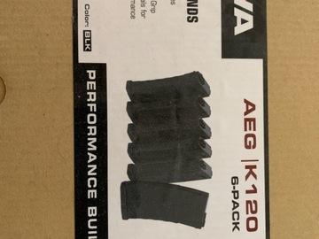 Selling: KWA AEG-K120 6 pack Mid Cap Magazines