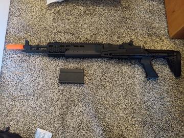 Selling: 6mm Pro Shop M14 EBR (Evil Black Rifle)
