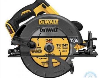 "For Sale: DEWALT CORDLESS BRUSHLESS 60V MAX 7-1/4"" (184MM) CIRCULAR SAW DCS"
