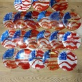 Selling: Full bag of USA Flag dyed discs multiple manufacturers