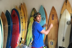Renting out: High performance short boards