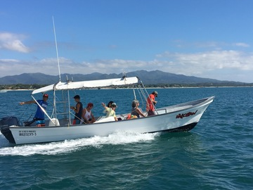 Excursion or Lesson: Boat ride to the Marietta Islands