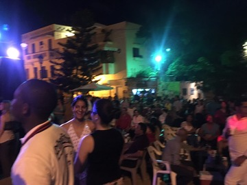 Excursion or Lesson: Merengue night in Santo Domingo