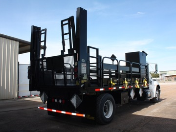 Rental / Leasing: 6-Pallet Cylinder Truck and Trailer