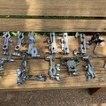 Selling with online payment: Misc. clamps 2 hole/3 hole/ ratchet/ specialty clamps