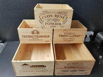 Demande: Wooden Wine Boxes