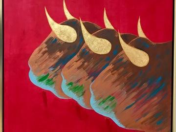 Sell Artworks: Tres Toros