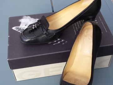 Vente: Chaussures Geox femme - Trotteurs noirs