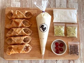 Pre-order: Kit 5 Cannoli Siciliani