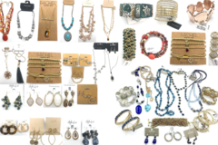 Liquidation/Wholesale Lot: 400 pieces 50 Different Name Brands of Jewelry $12,000.00 Retail