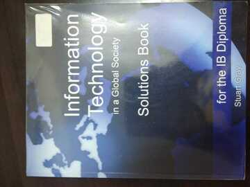 Selling with online payment: Information Technology in a Global Society (Solutions Book)