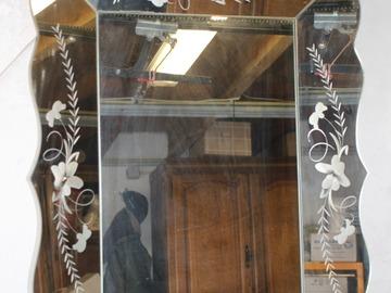 À vendre: Ancien Miroir Vénitien 80x56 Centimètres