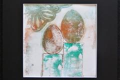 Myydään taidetta: Monoprint-teos: Me kaksi