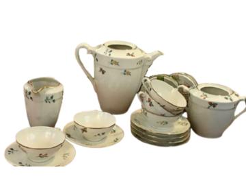 Vente: Service à café complet vintage porcelaine