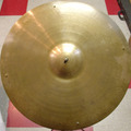 """Selling with online payment:  1960-70s ZILDJIAN 19"""" medium/thin crash cymbal 1470 grams"""