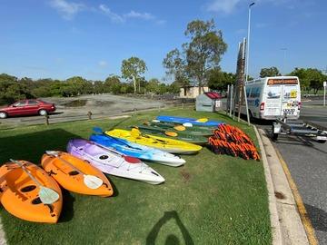 Weekly Rate: 2 X Single Kayaks - Weekly Booking