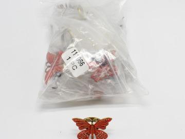 Liquidation/Wholesale Lot: Dozen New Butterfly Fashion Rings