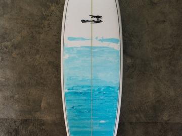 "Daily Rate: Yahoo Surfboards - 6'4"" PU Kelvinator Model"