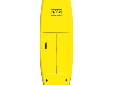 "Daily Rate: Yahoo Surfboards - 7'6"" Surf School Softboard"