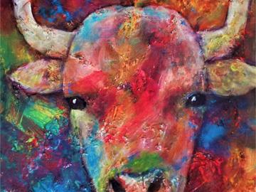 Sell Artworks: Happy Bull