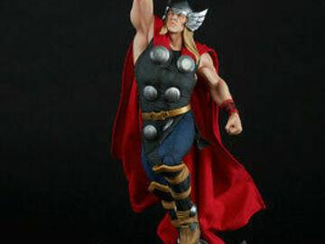 Individuals: Thor Sideshow Marvel Statue
